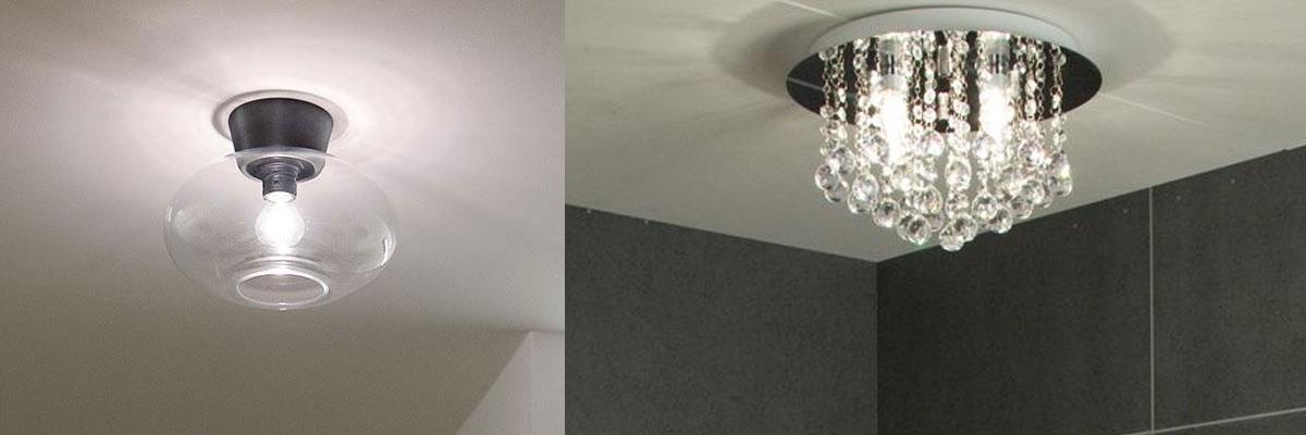 Badrumslampa Plafond