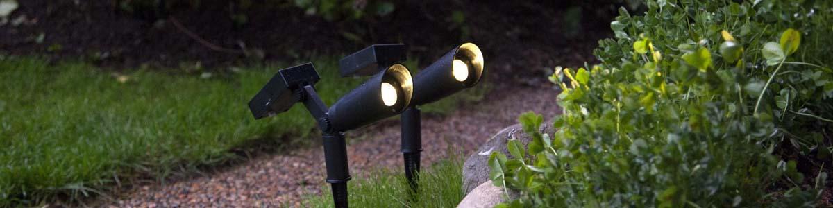 Solcell Spotlights