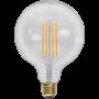Glob 125 E27 3,6W Soft Glow Dimbar Led från Star Trading