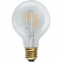 Glob 80 E27 2,3W Soft Glow Led från Star Trading