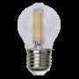 Klot E27 4,2W Filament Dimbar Led från Star Trading