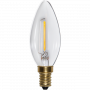 Kron E14 0,8W Soft Glow Led från Star Trading