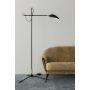 Spoon Svart/Mässing Golvlampa från Watt&Veke