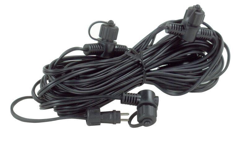 Kabel 10m 120w 4st kopplingar