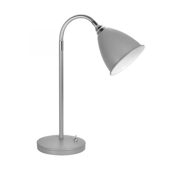 Smögen Grå 40W/E14 Skrivbordlampa