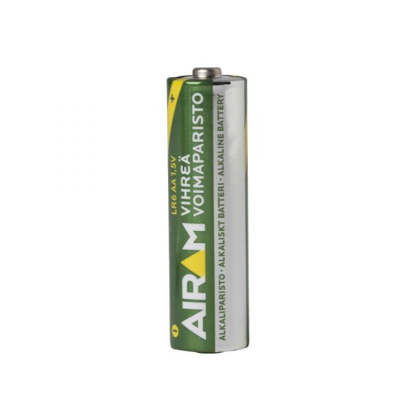12-pack Alkali Green Line AA Batteri