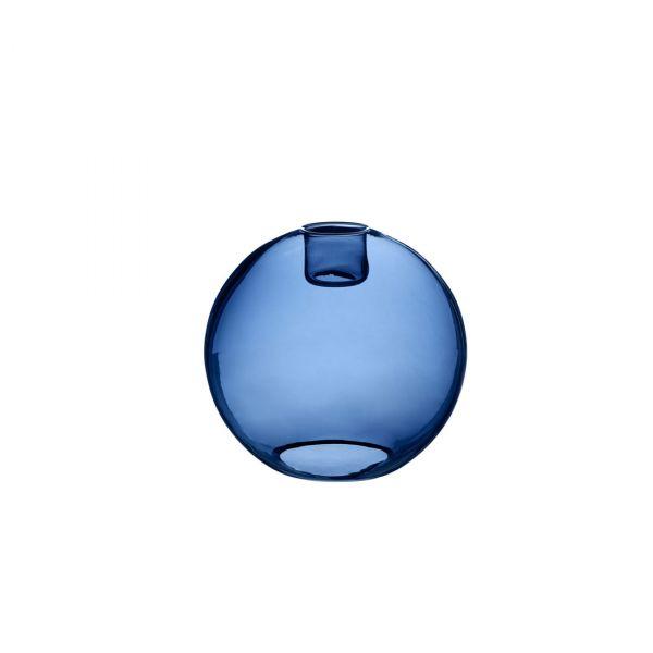 Gloria blått glas 19cm