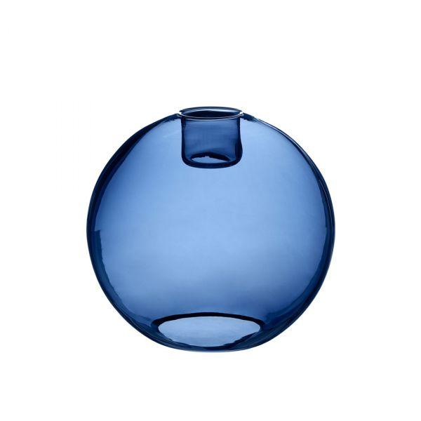 Gloria blått glas 26cm