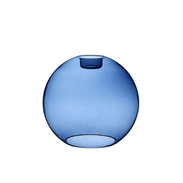 Gloria blått glas 32cm
