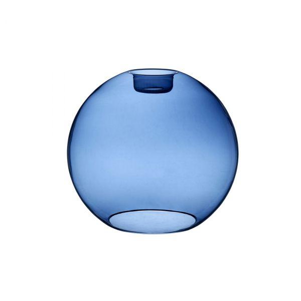 Gloria blått glas 38cm