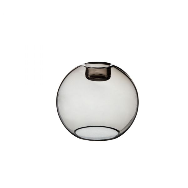 Gloria rökfärgat glas 16cm