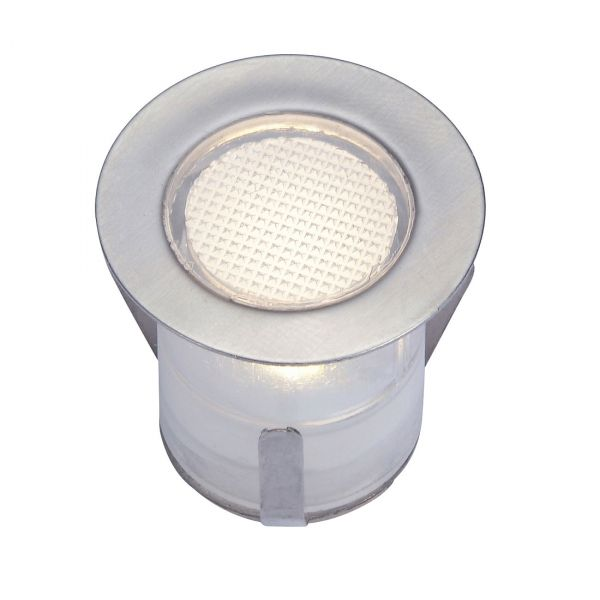 Bolthi Decklight 30mm 12V LED 6-pack Stål