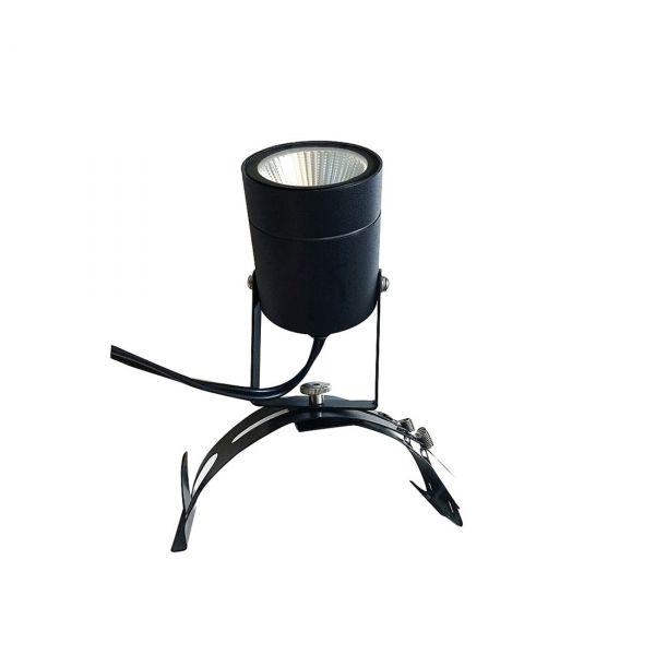 Bolthi Spotlight LED 4,5W hängrännehållare Svart