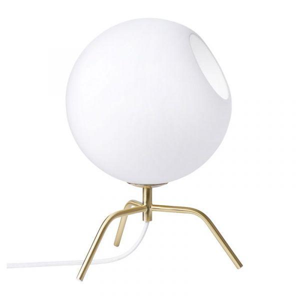 Bug 15 Mässing/Opal Bordslampa