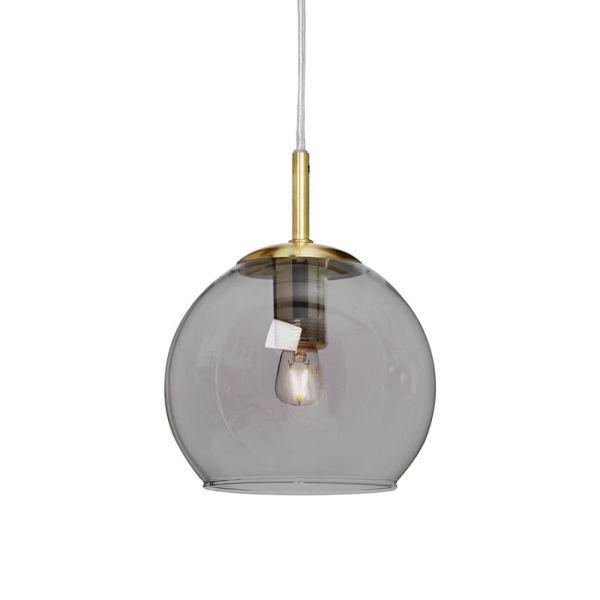 Capella Fönsterlampa Mässing/Rökfärgad 15cm