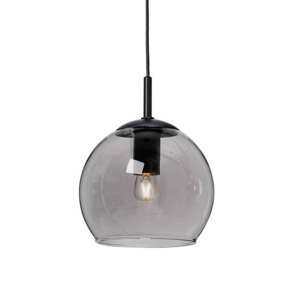 Capella Fönsterlampa Svart/Rökfärgad 15cm
