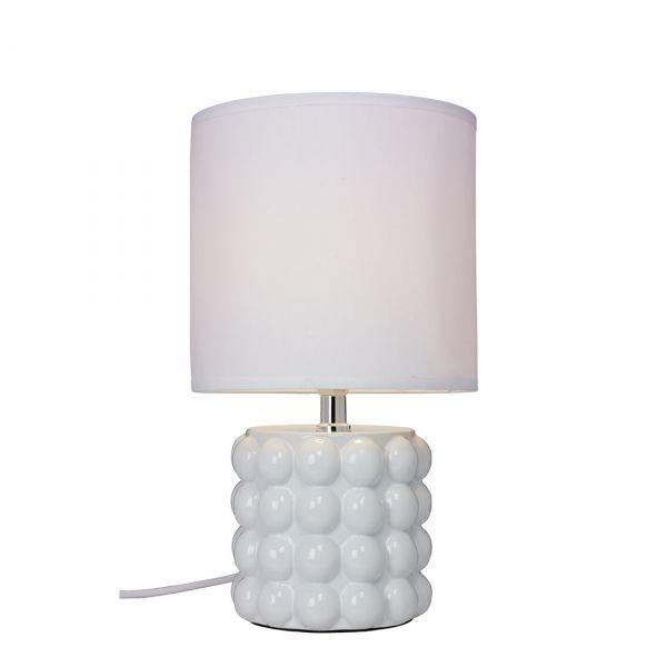 Kupol Vit 34cm Bordslampa