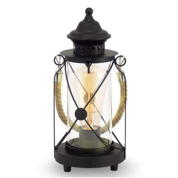 Bradford Lykta Svart Bordslampa