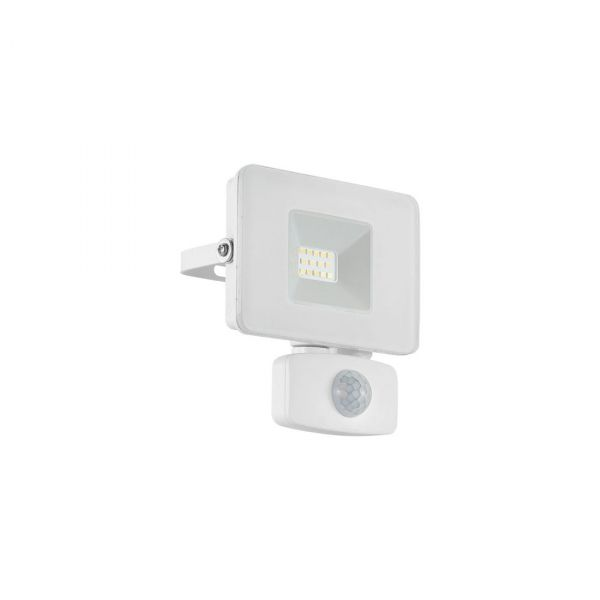 Faedo 3 LED Strålkastare 10W Vit Sensor IP44