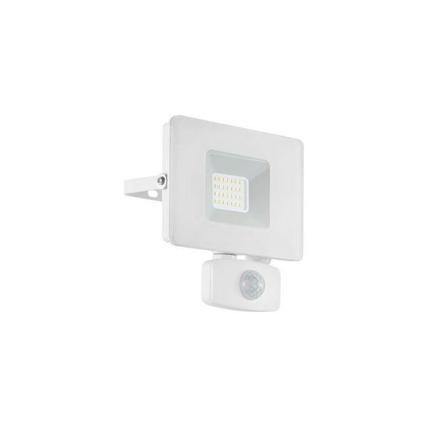 Faedo 3 LED Strålkastare 20W Vit Sensor IP44