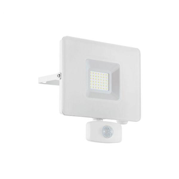 Faedo 3 LED Strålkastare 30W Vit Sensor IP44