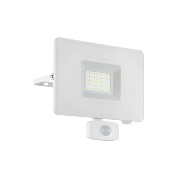 Faedo 3 LED Strålkastare 50W Vit Sensor IP44