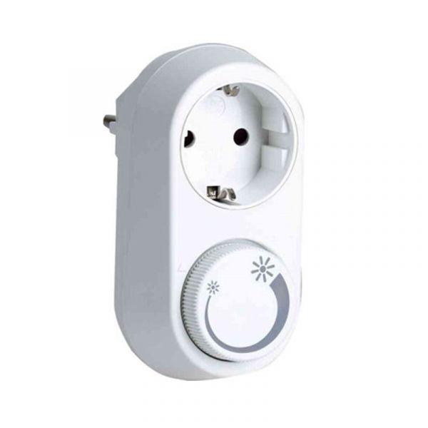 Plug-In Dimmer Vägguttag Led (3-24W) 3-200W