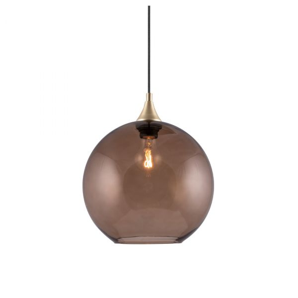 Bowl Taklampa Brun 28cm