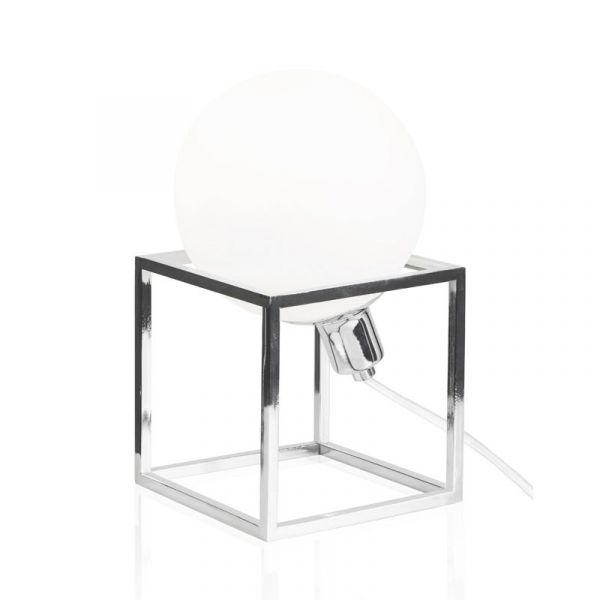 Cube Krom Bordslampa