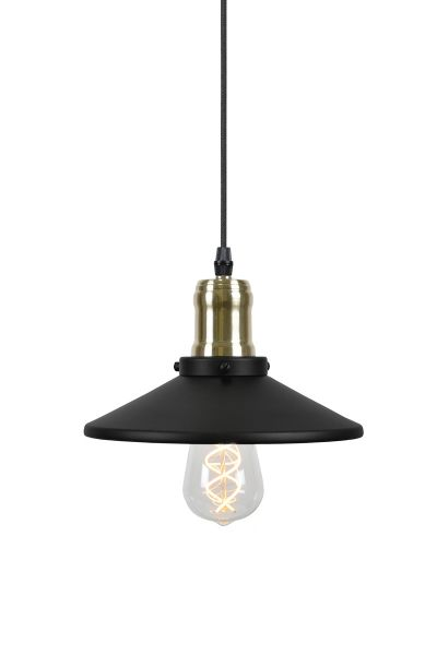Disc Mini Svart/Mässing Fönsterlampa