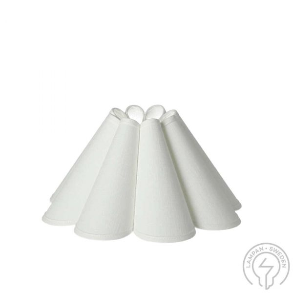Carolin Lampskärm 27cm Vit