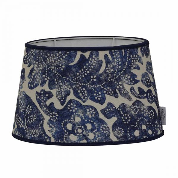 Pigalle Batik Lampskärm Ralph Lauren Blå 25cm
