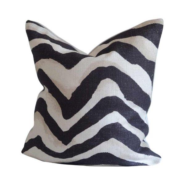 Terranea Zebra Kuddfodral Ralph Lauren Svart 45*45cm