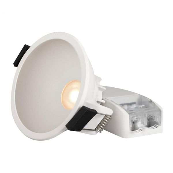 Globe Badrumslampa Tak Vit Tune