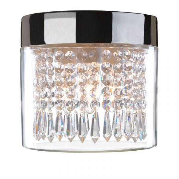 Opus 200 Kristall Svart Ip44