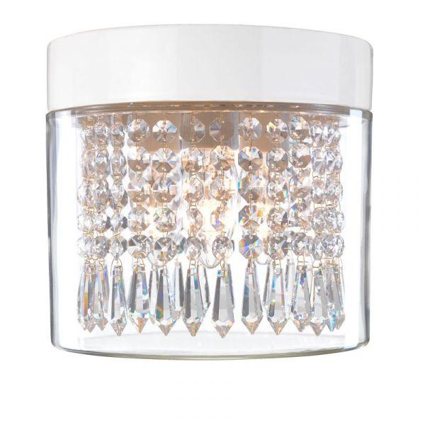Opus 200 Kristall Vit Ip44