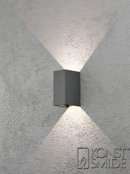 Cremona Antracit Led Vägglampa