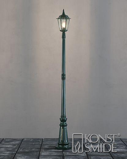 Firenze Grön Lyktstolpe
