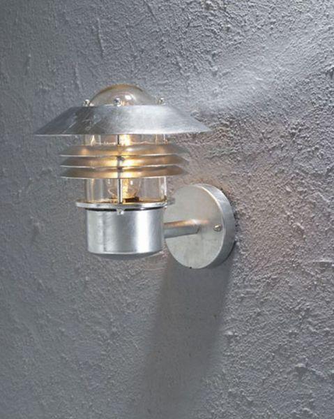 Modena Galv Upp Ute Vägglampa Tri