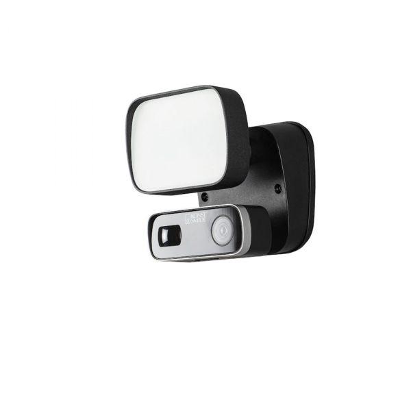 Smartlight 10W Kamera, Högtalare, Microfon och Wifi Svart