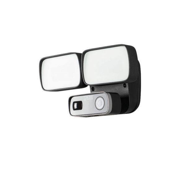 Smartlight 24W Kamera, Högtalare, Microfon och Wifi Svart