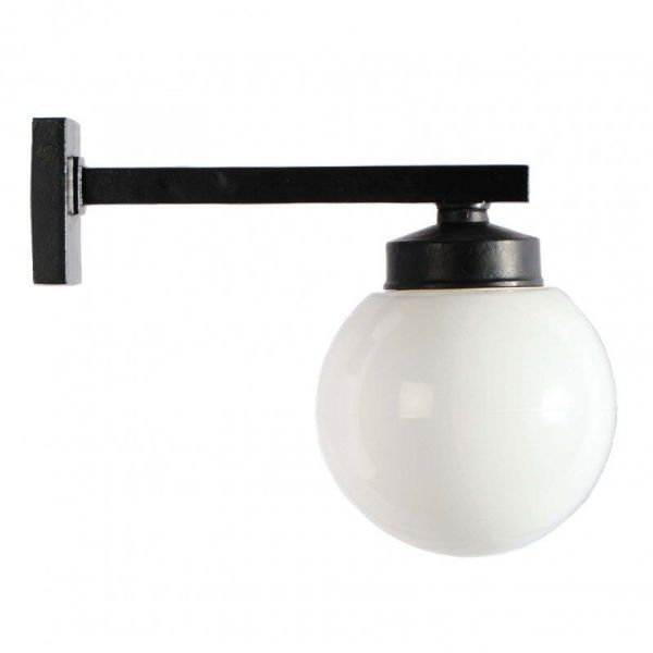 Funkislampa Svart/Opal
