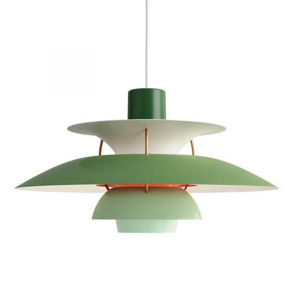 PH 5 Grön Taklampa