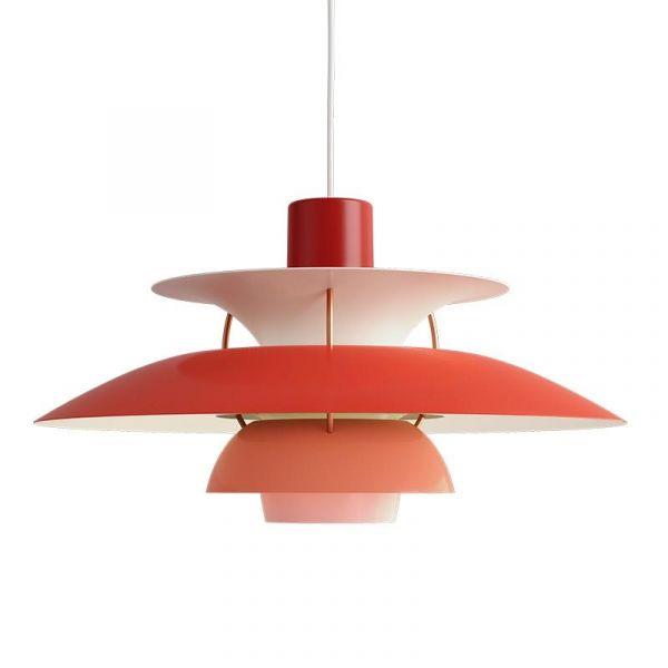 PH 5 Röd Taklampa