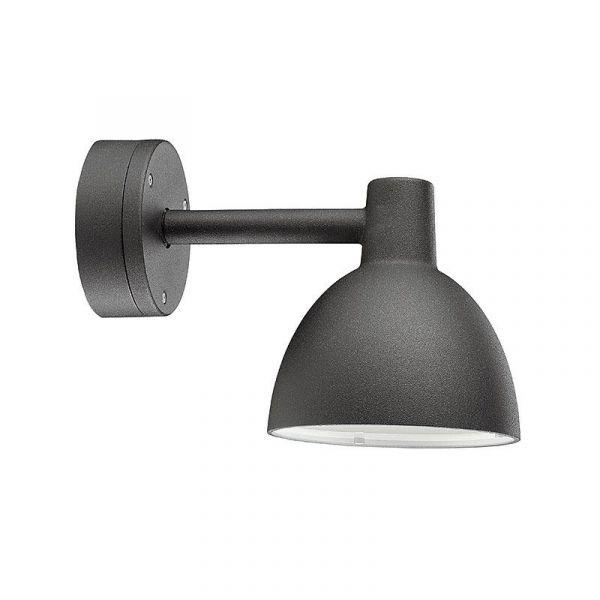 Toldbod 155 Svart IP44 Vägglampa