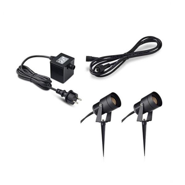 Garden24 Start Set 2x3W Spot