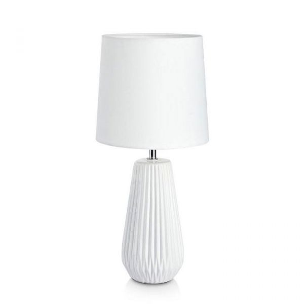 Nicci Vit Bordslampa