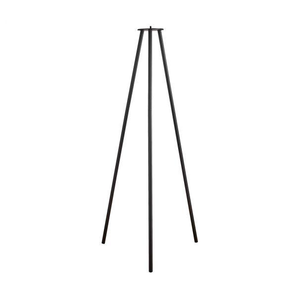 Kettle Golvstativ Metall Svart 110cm