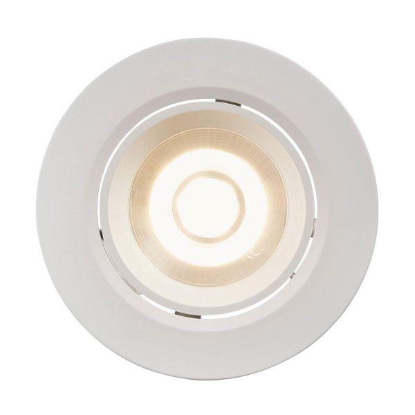 Roar inbyggnadsspot Vit integrerad LED