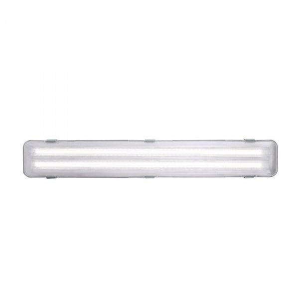 Works 66cm LED-lysrörsarmatur IP65 Grå